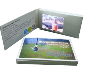 Video brochures video business card with 24 lcd screen video video business card colourmoves