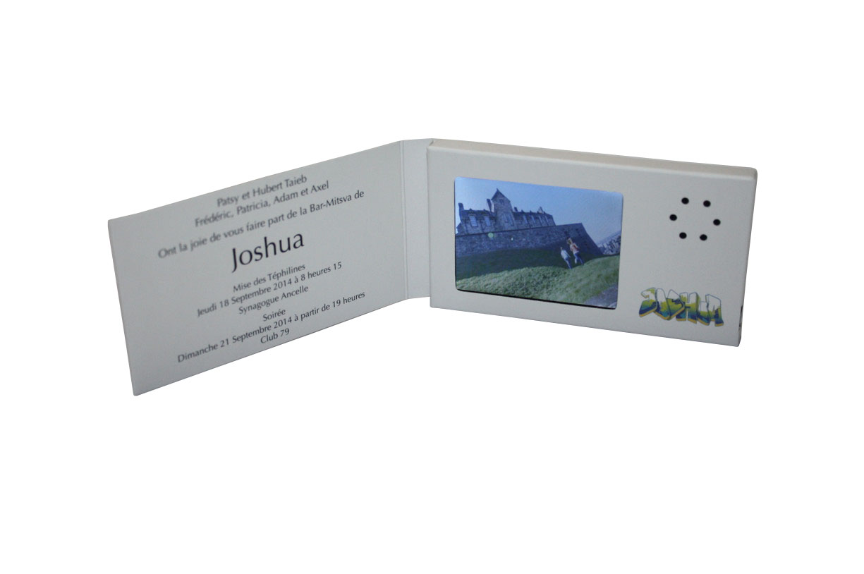 Video brochures video business card with 24 lcd screen video video business card with 24 lcd screen colourmoves